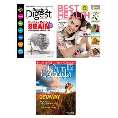 Readers Digest Sweepstakes Winners 2013 - free 1 year magazine subscription