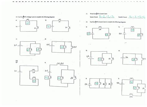 series circuit diagram circuit physics answers for kirchoffs page series