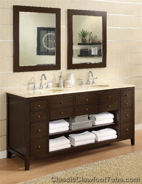 68 Bathroom Vanity by 68 Quot Bathroom Vanity Classic Clawfoot Tub
