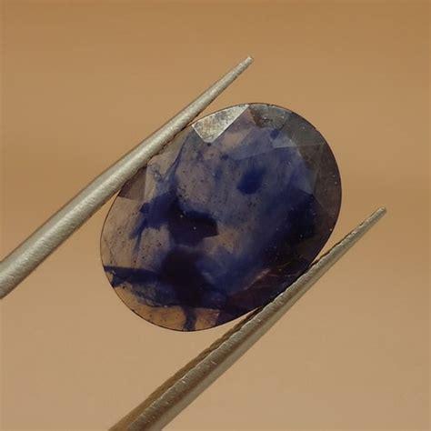 Cincin Batu Mustika Air 04 batu blue sapphire asli bertuah pusaka dunia