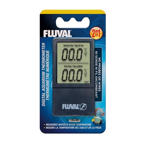 Termometer Digital Untuk Aquarium 11193 fluval 2 in 1 digital aquarium thermometer