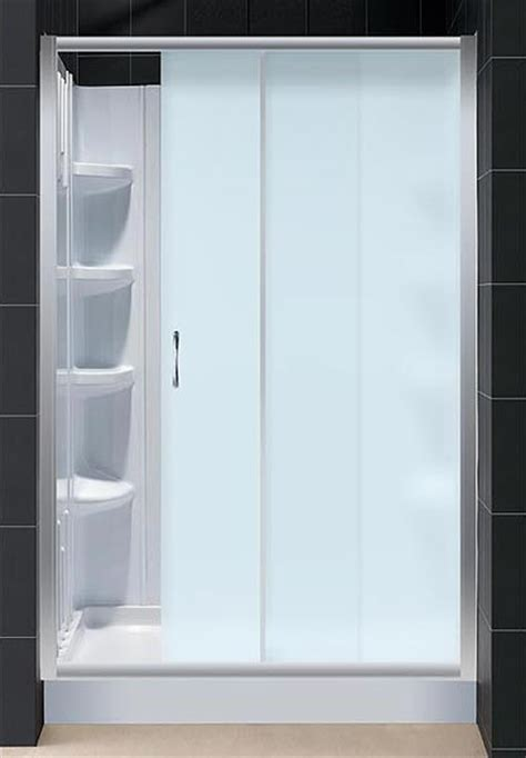 Infinity Shower Door Infinity Sliding Shower Door And Shower Backwall Kit