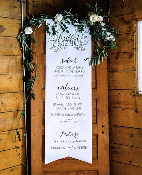10 Rustic Old Door Wedding Decor Ideas If You Love Outdoor Cheap Wedding Buffet Menu Ideas