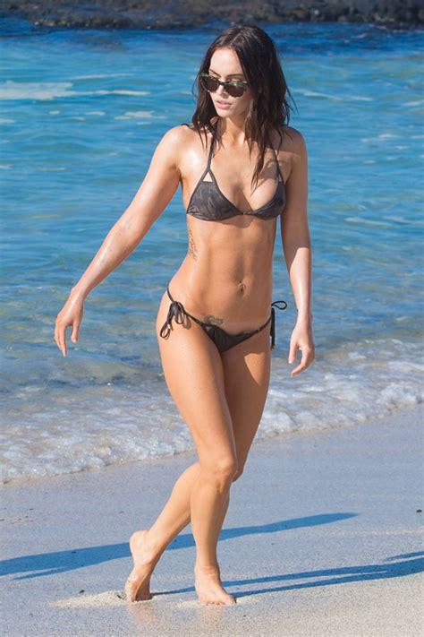 Nicoles Post Baby Bod by Megan Fox Flaunts Rockin Post Baby Bod Dedicated