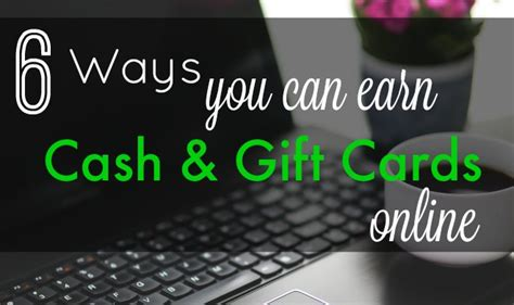 Cash In Gift Card Online - 6 ways to earn cash gift cards online livin the mommy life