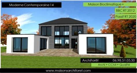 Design A Patio by Plan Et Photo De Maison Avec Etage Ossature Bois Par