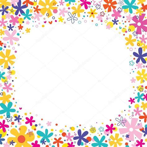 cornice fiori fiori cornice natura elementi di disegno bordo