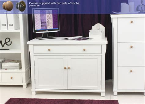Hton White Painted Furniture Hidden Home Office White Hideaway Computer Desk