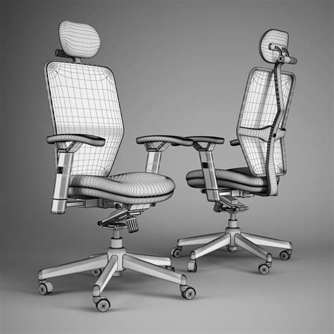 The Office Chair Model Quotes by Office Chair 46 3d Model Max Obj Fbx C4d Cgtrader