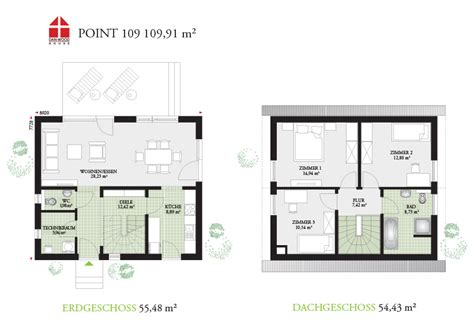 Danwood Haus Grundriss by Point 109 Deinhaus G 252 Tersloh Dan Wood Fertigh 228 User