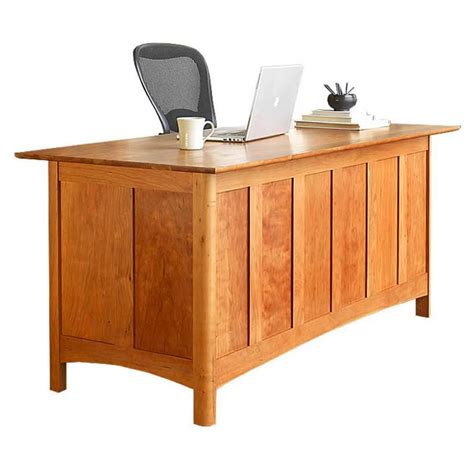 Mission Style Bedroom Sets shaker executive solid wood desk real cherry maple or