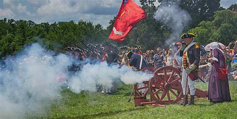mt vernon cannon fire 4th of july photograph by jack nevitt