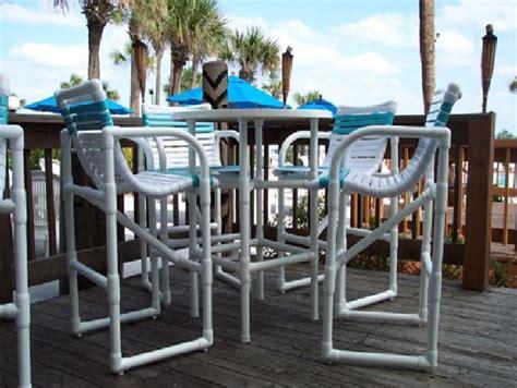 photo  bar heigh pvc patio furniture pvc patio