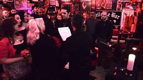 satanic wedding renewing of vows