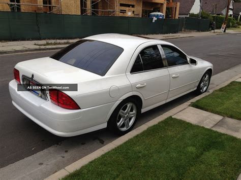 lincoln ls sedan 2000 lincoln ls base sedan 4 door 3 0l