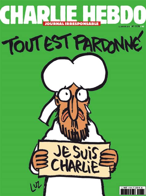 charlie hebdo�s defiant first postattack cover depicts