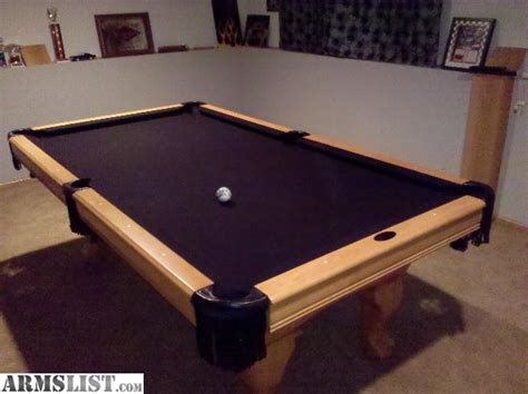 Pool Table Felt For Sale armslist for sale custom pool table for trade