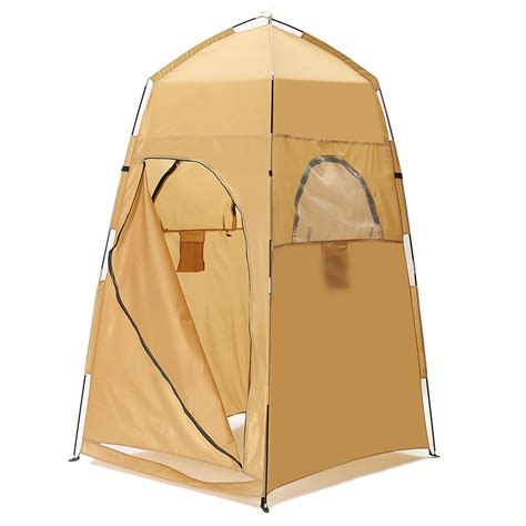 pop up bathroom tent portable pop up cing shower bathroom privacy toilet