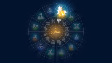 zodiac wallpaper for walls aries zodiac sign wallpaper 61295 1366x768 px