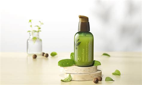 Innisfree New Green Tea Seed Serum Special Set innisfree sle green tea balancing special kit 4 item skin lotion serum ebay