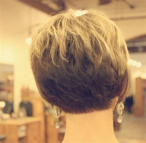 short hairstyles from the back for women over 50 back view of short hairstyles for women