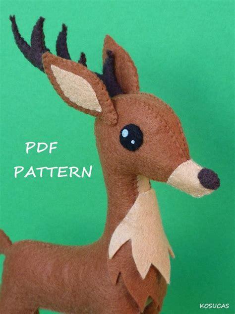 pattern for a felt reindeer 94 best images about reindeer on pinterest outside