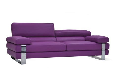 purple leather couch purple leather sofa made in italy furniture toronto