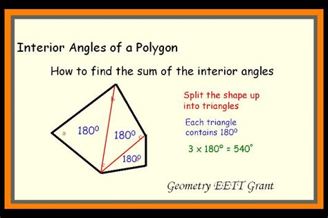 How To Find The Interior Angle Of A Hexagon by Interior Of A Polygon Angles Pictures To Pin On