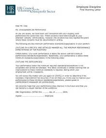Explanation Letter To Employer For Misconduct Best Photos Of Employee Warning Letter For Misconduct Employee Warning Letter Sle Employee