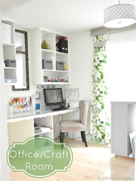 office craft room office craft room reveal