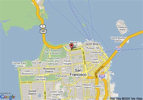 san francisco map lombard san francisco days inn lombard san francisco deals