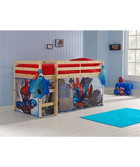 Shorty Mid Sleeper Bed With Tent by Buy Pine Shorty Mid Sleeper Bed Spider Tent At Argos