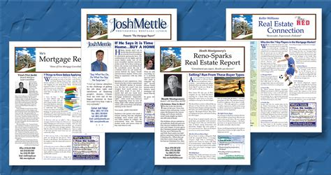 Loan Newsletter Mortgage Newsletters Real Estate Newsletters That Work