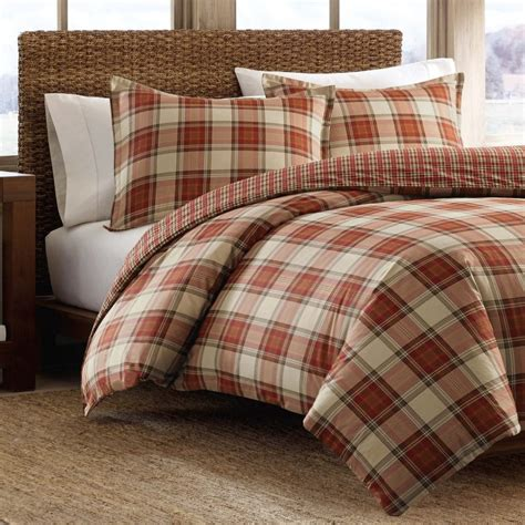 Red Duvet Covers King Size Plaid Bedding Sets Ease Bedding With Style