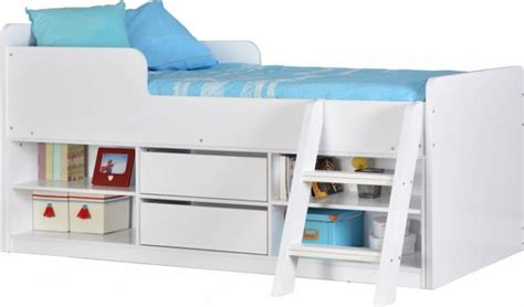 Low Sleeper Bed by Felix Low Sleeper Bed In White White