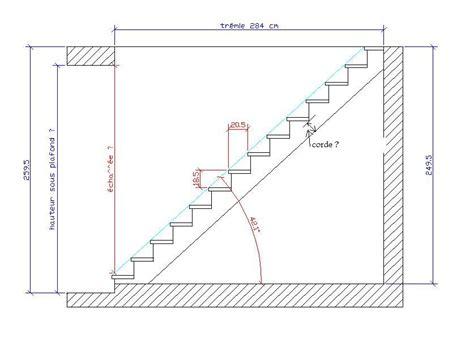 Plan D Escalier 4006 plan d escalier plan d escalier calculer un escalier