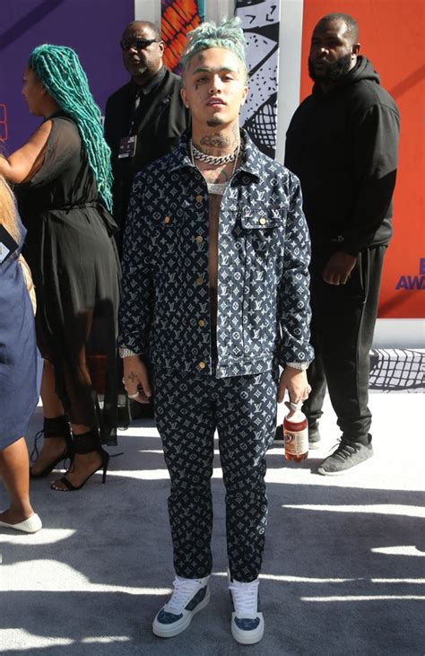 lil pump vma outfit lil pump picture 8 2018 mtv video music awards arrivals