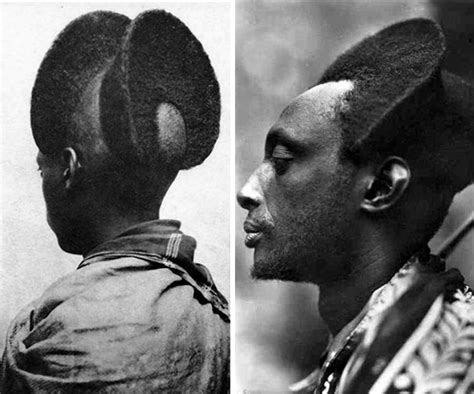 Rwandan Traditional Hair Cuts | almost 100 year old pictures show how amazing the
