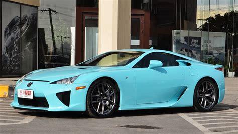 baby lexus baby blue lexus lfa for sale 1 14 million autoevolution