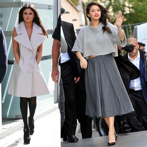 selena gomez best dress slena gomez best style denim casual