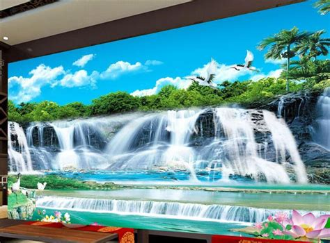 Wallpaper Pvc Import High Quality mewah berkualitas tinggi pvc pantai wallpaper wallpaper