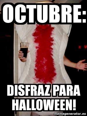 Memes De Halloween - meme personalizado octubre disfraz para halloween