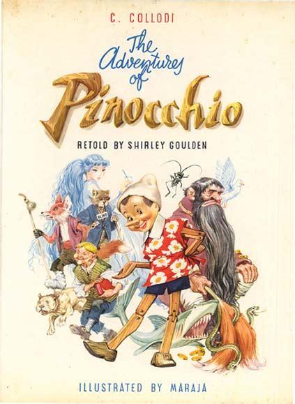 the book of testo pinocchio c collodi maraja