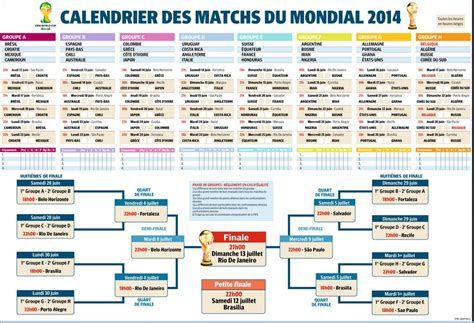 Coupe Du Monde Calendrier Calendrier De La Coupe Du Monde Br 233 Sil 2014 Excile Tv
