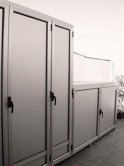 armario para terraza exterior armarios de exterior en aluminio estancos endiagonal mar