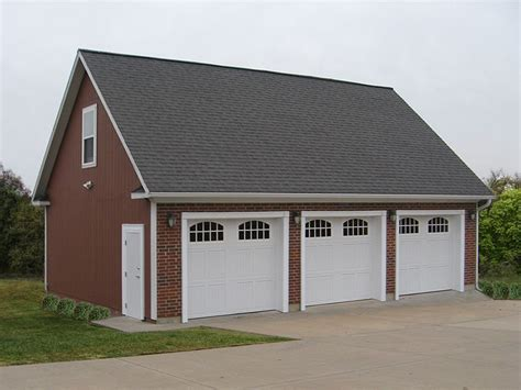 3 car detached garage 25 best ideas about 3 car garage on pinterest car