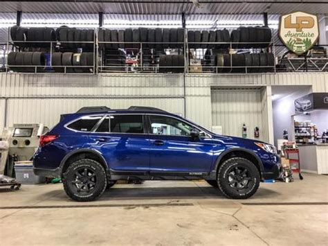 subaru outback lifted subaru outback 2015 2017 lift kit 50mm w hd powder coating