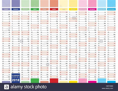 2018 Planner Calendar Annual Planner For Year 2018 New 2018 Year