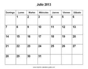 Calendario Julio Calendario Julio 2011 El Calendario Julio Para Imprimir