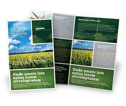 agriculture brochure templates 10 best images about newsletter layouts on